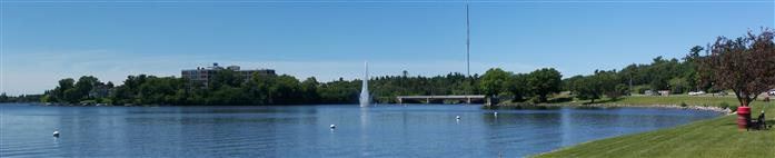 Kenora Harbour Front Goodwill Geyser 2012